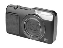 Digital compact camera Royalty Free Stock Image