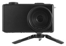 Digital compact camera Royalty Free Stock Images