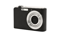 Free Digital Compact Camera. Isolated On White Stock Images - 18765924