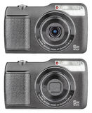 Digital compact cameras Royalty Free Stock Image