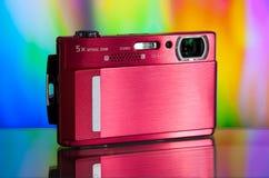 digital compact d'appareil-photo Photographie stock libre de droits