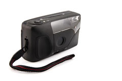 Digital compact photo camera isolated. Stock Photo