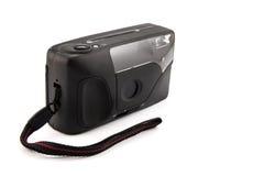 Digital compact photo camera isolated. Stock Photo