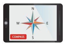 Digital compass Stock Photography