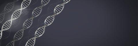 Clone men with genetic DNA. Digital composite of Clone men with genetic DNA Stock Photos