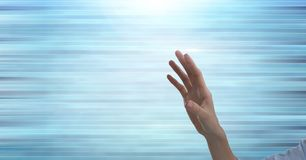 Hand reaching out stock images