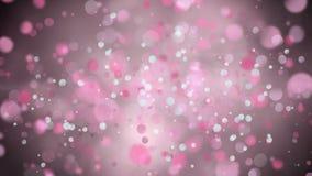 Digital composites of pink lights