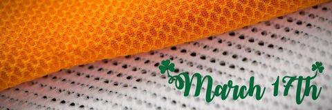 St Patricks Day Greeting. Digital composite of St Patricks Day Greeting royalty free stock image