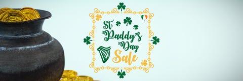 St Patricks Day Greeting royalty free illustration