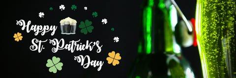 St Patricks Day Greeting stock illustration