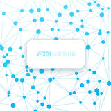 Digital connection background. Communication concept illustration on a white background Royalty Free Stock Images