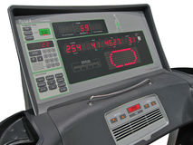 Digital control panel, gyms, calories, weight loss Royalty Free Stock Images