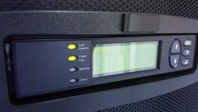 Digital control panel power supply for data center Stock Photos