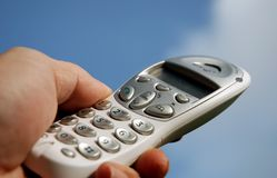 Digital Cordless Phone 03 Royalty Free Stock Images