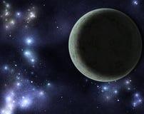 Digital created starfield Stock Image