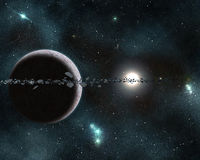 Digital created starfield Royalty Free Stock Images