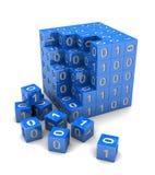 Digital cube Stock Photo