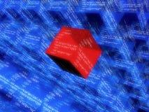 Digital cubes Royalty Free Stock Image