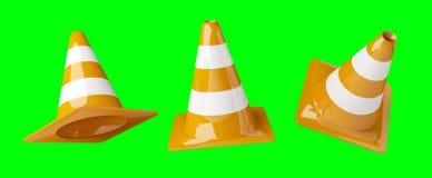 Digital 3D, die im Bau Zeichen übertragen Lizenzfreie Stockfotografie