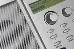 Digital - DAB - Radio Autotune Stock Photos