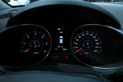 Digital Dashboard Stock Image