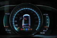 Digital Dashboard Stock Photography