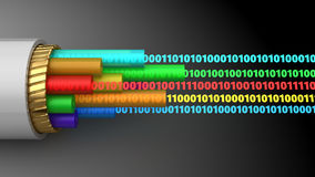 Digital data Stock Photo