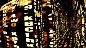 Digital Data Chaos 0263 Royalty Free Stock Photos
