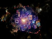 Digital Data Cloud Royalty Free Stock Images