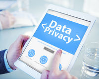 Digital Data Privacy Protection Searching Concept Royalty Free Stock Images