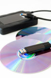 Digital data storage Stock Images