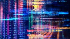 Digital Data Technology Background royalty free illustration