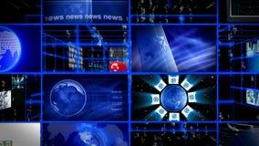 Digital data video matrix stock footage