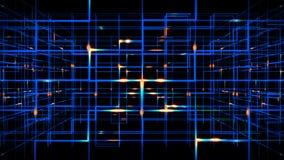 Digital data video matrix stock video