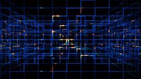 Digital data video matrix stock video footage