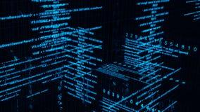 Digital-Datenmatrix lizenzfreie abbildung