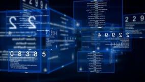 Digital-Datenvideomatrix lizenzfreie abbildung