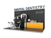 Digital dentistry concept Stock Images