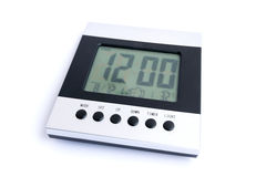 Digital Desktop Clock. Royalty Free Stock Image
