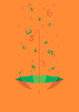 Digital deszcz Zdjęcia Stock