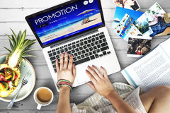 Digital Device Promotion Photos Concept Stock Photo
