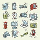 Digital Device Set Stock Image