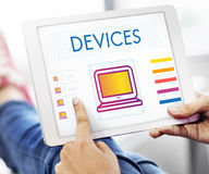 Digital Devices Innovation Multimedia Concept royalty free stock image