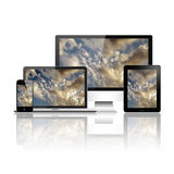 Digital devices Stock Photography