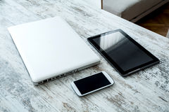 Digital Devices Stock Photo
