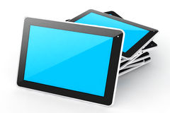 Digital devices tablet. Royalty Free Stock Image