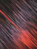 Digital diagonal red lines abstract background. 3d rendering Royalty Free Stock Photos