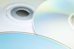 Digital discs. Abstract digital disc background (cd cdr and dvd Stock Photos