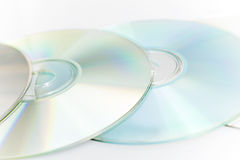 Digital discs Royalty Free Stock Photography