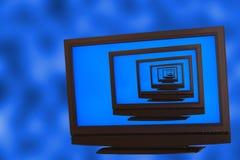 Digital Display Repeated Stock Photo